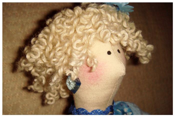 Как сделать волосы кукле кудрявые волосы