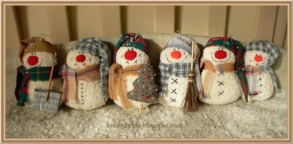Сувениры из ткани на новый год - Подарки, сувенры на Новый год своими руками