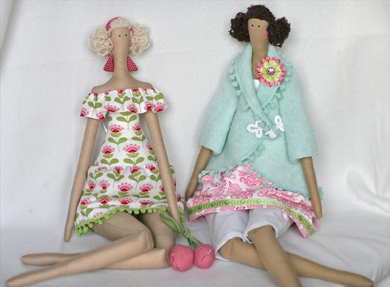 Мастер класс по изготовлению кукла тильда